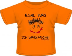 T-Shirt Egal was...